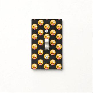 Crazy Face Emoji Light Switch Cover