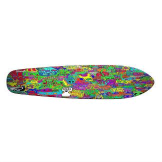 Crazy Faces Custom Skateboard
