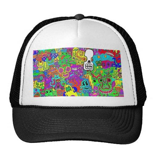 Crazy Faces Hat