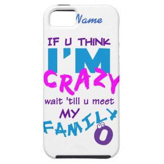 Crazy Family custom iPhone 5 Case-Mate iPhone SE/5/5s Case