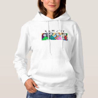 Crazy Family Women's Hoodie Original Art