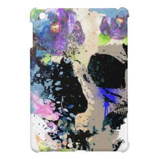 Crazy Fantasy Skull Skeleton Paint Colourful Cover For The iPad Mini