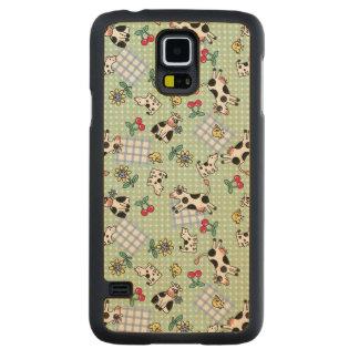 Crazy Farm Carved® Maple Galaxy S5 Slim Case