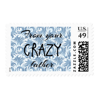 Crazy Father Stamp