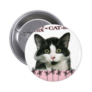 Crazy Felix CAT-itude in Pink Buttons