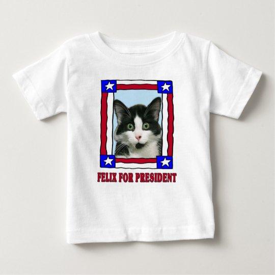 Crazy Felix the Cat For President T-Shirt
