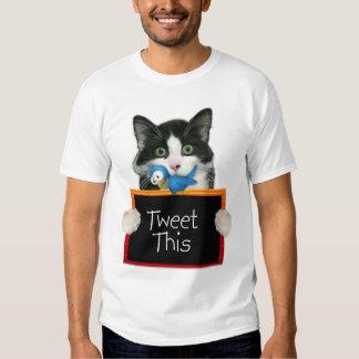 Crazy Felix Tweet This! T-Shirt