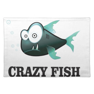 crazy fish yeah placemat