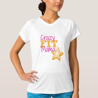 Crazy Fit Mama Customizable women's sport shirt