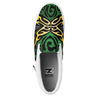 Jamaica flag canvas shoes printed shoes zazzle crazy flag 111 slip on sneakers voltagebd Gallery