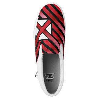 Crazy Flag #244 Slip-On Sneakers