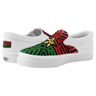 Crazy Flag #34 Slip-On Sneakers