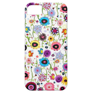 Crazy Floral Funk iPhone 5 Cases