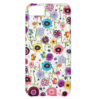 Crazy Floral Funk iPhone 5C Covers