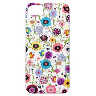 Crazy Floral Funk iPhone SE/5/5s Case