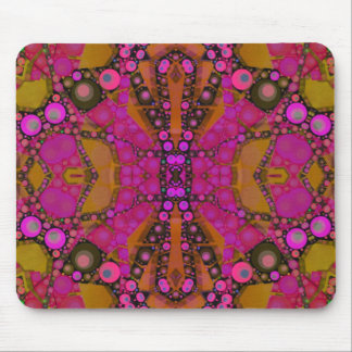 Crazy Florescent Abstract Mousepad