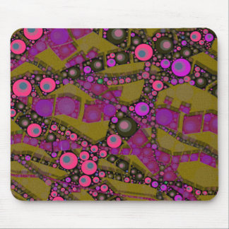 Crazy florescent Abstract Mouse Pads