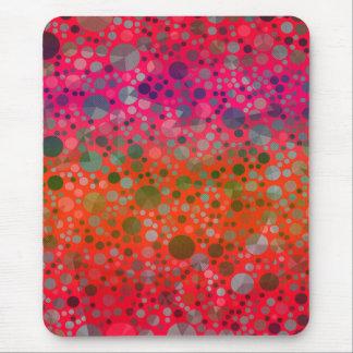 Crazy florescent mouse pad