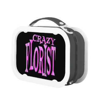 Crazy Florist in Pink Lunch Box