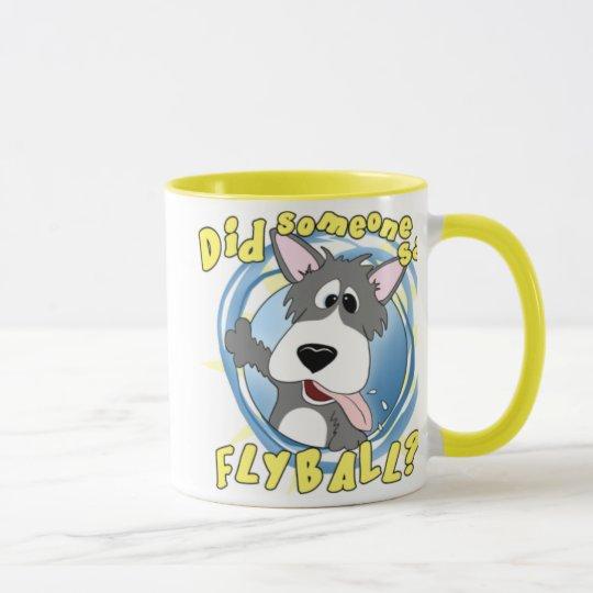 Crazy Flyball Dog Mug