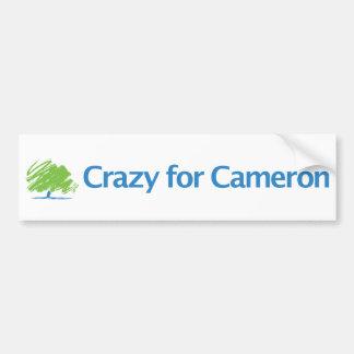 Crazy for Cameron Bumper Sticker