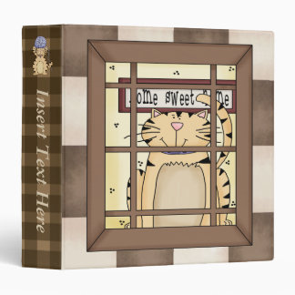 Crazy For Cats Avery Binder