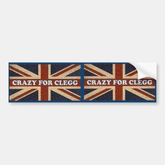 Crazy For Clegg Bumper Sticker