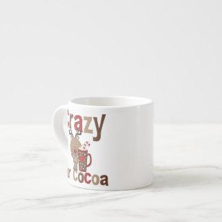 Crazy For Cocoa 6 Oz Ceramic Espresso Cup