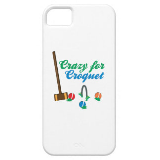 Crazy For Croquet iPhone 5 Cover