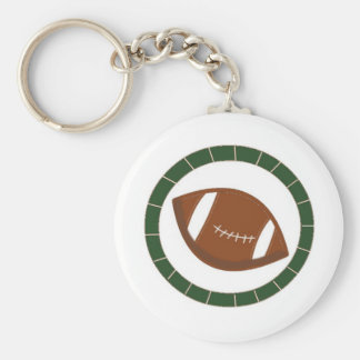 Crazy For Football Keychain