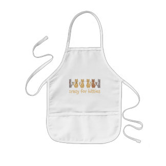 Crazy For Kitties Tshirts and Gifts Kids' Apron