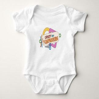 Crazy For Scrapbooking! Baby Bodysuit