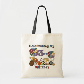 Crazy For Sports 3rd Birthday Tshirts and Gifts Tote Bags