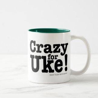 Crazy for UKE Designer Coffee Mug