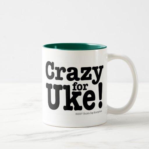 Crazy For Uke Designer Coffee Mug Zazzle