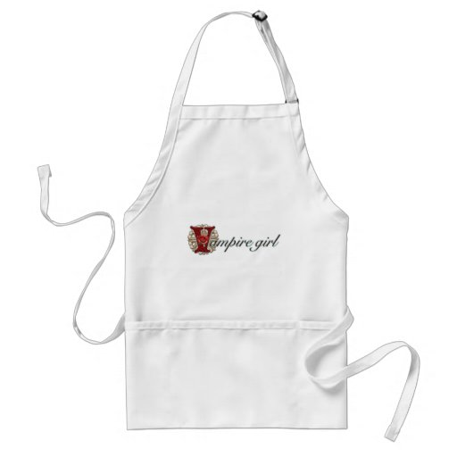 Crazy for Vampires Aprons