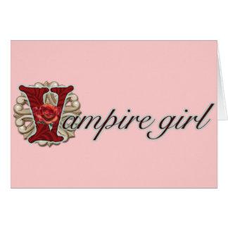 Crazy for Vampires Card