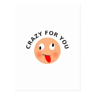 Crazy For You Postcard