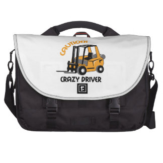 CRAZY FORFLIFT DRIVER COMMUTER BAGS