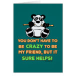 Crazy Friends Greeting Cards