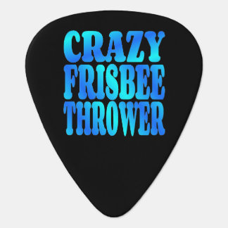 Crazy Frisbee Thrower Guitar Pick