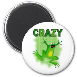 CRAZY FROG 2 INCH ROUND MAGNET