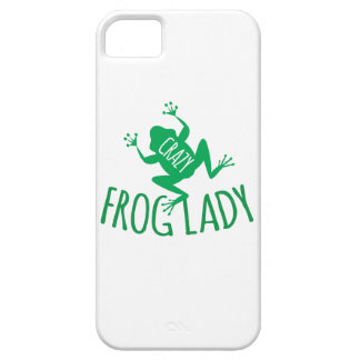 Crazy Frog Lady iPhone SE/5/5s Case