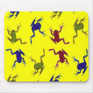 Crazy Frog Mouse Pads