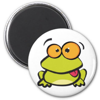 CRAZY FROG PRINCE 2 INCH ROUND MAGNET