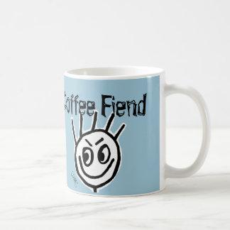Crazy Funny Coffee Mug, FIEND Classic White Coffee Mug