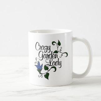 Crazy Garden Lady Coffee Mug