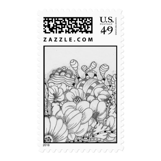 Crazy Garden - Stamp