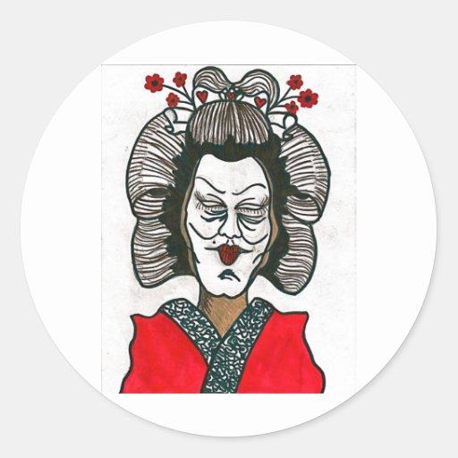 crazy geisha! stickers