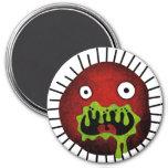 Crazy Germ Monster Magnet
